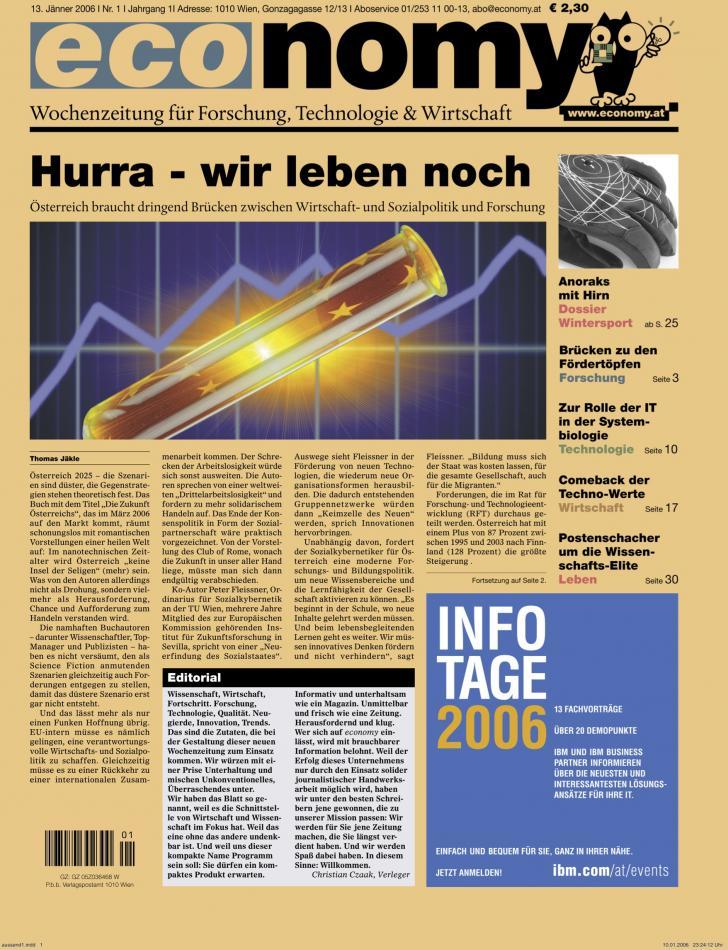 Heft Ausgabe Nr. 01 - Seite 1