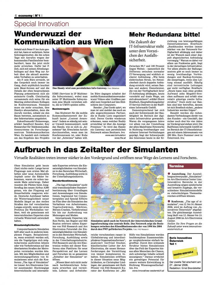 Heft Ausgabe Nr. 01 - Seite 6