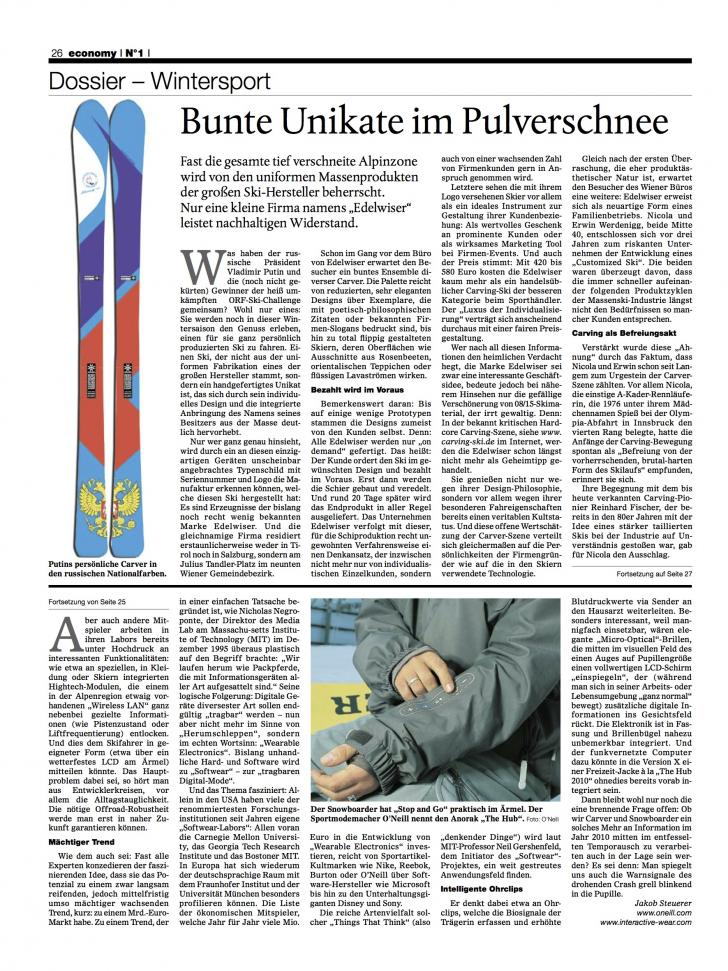 Heft Ausgabe Nr. 01 - Seite 26