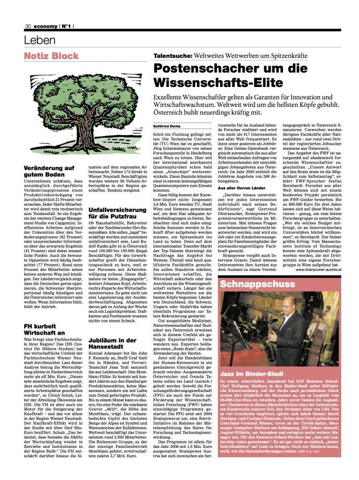 Heft Ausgabe Nr. 01 - Seite 30