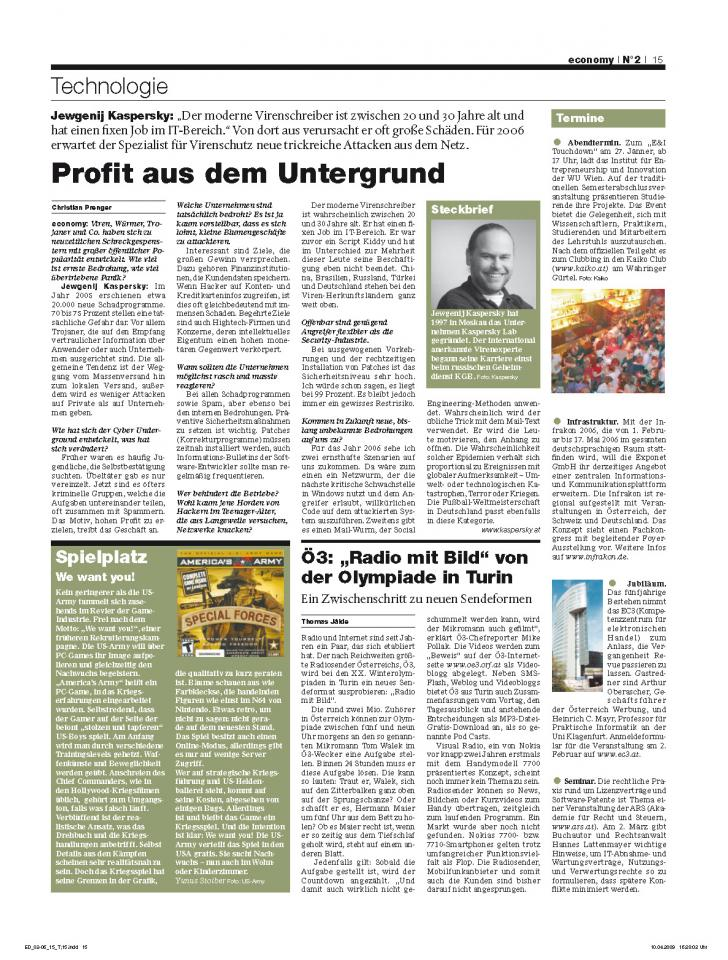 Heft Ausgabe Nr. 02 - Seite 15