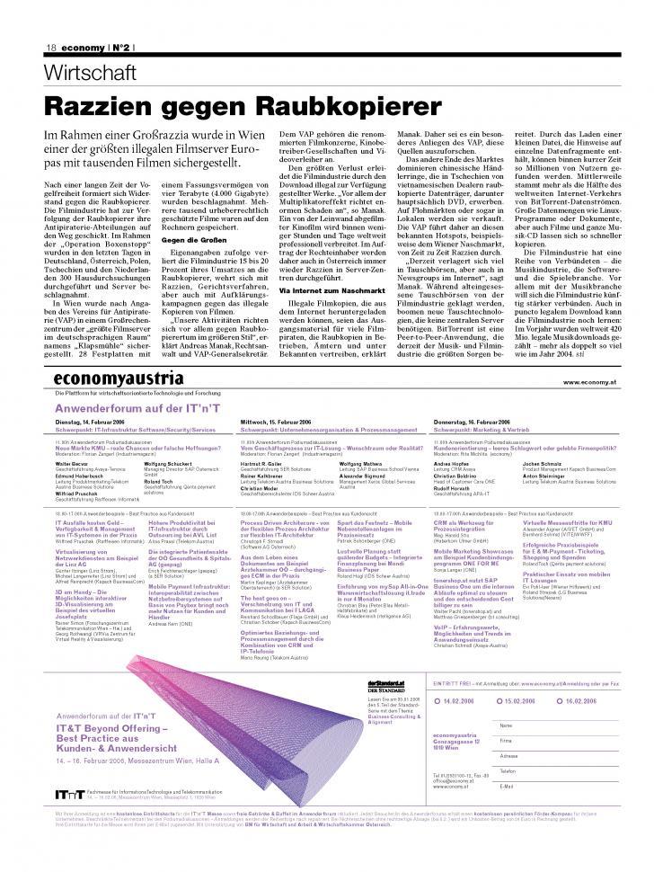 Heft Ausgabe Nr. 02 - Seite 18