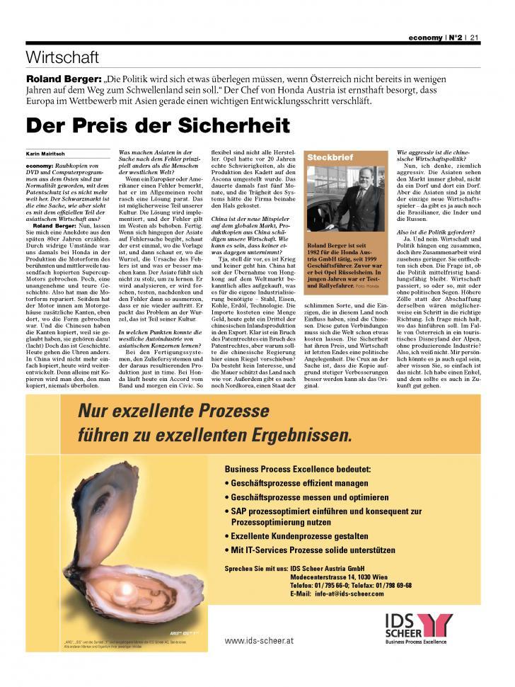 Heft Ausgabe Nr. 02 - Seite 21