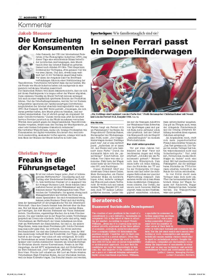 Heft Ausgabe Nr. 02 - Seite 32