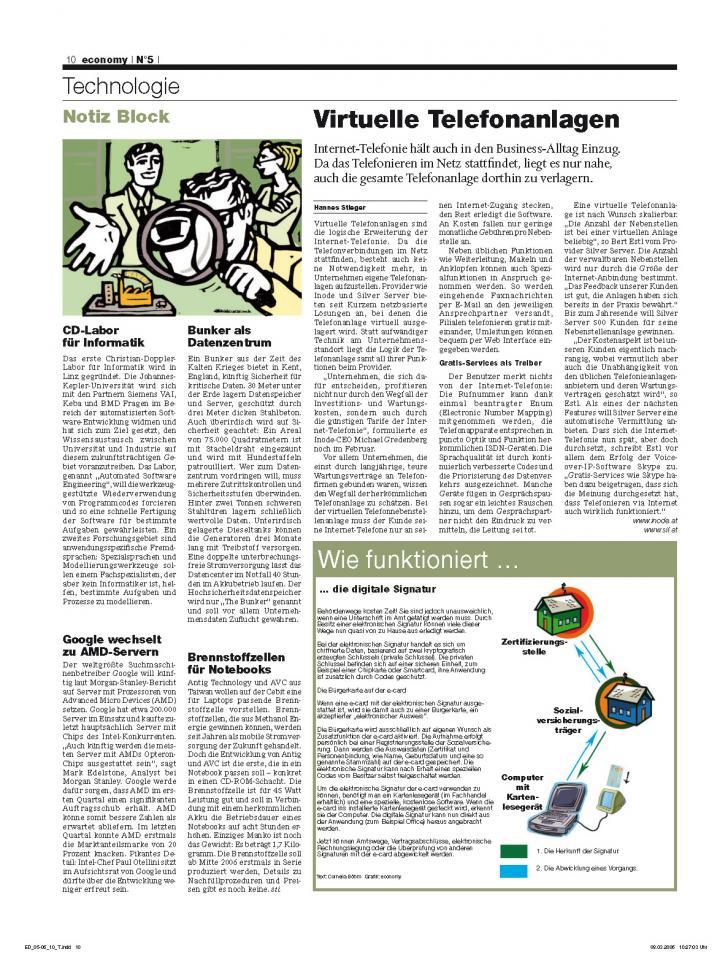 Heft Ausgabe Nr. 05 - Seite 10