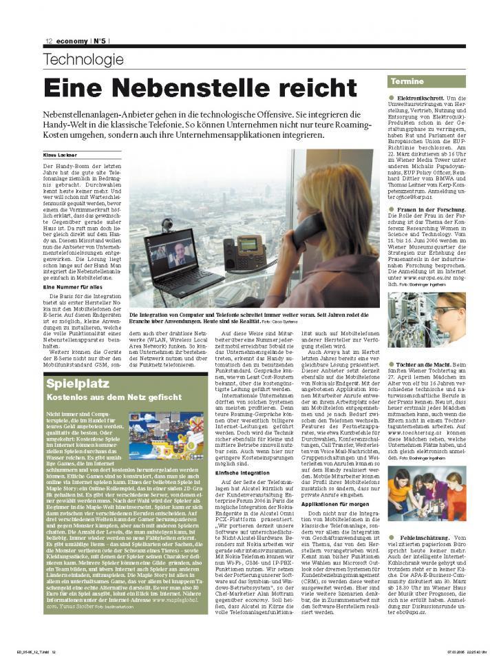 Heft Ausgabe Nr. 05 - Seite 12