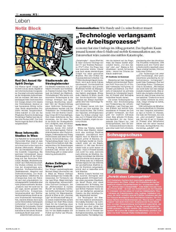 Heft Ausgabe Nr. 05 - Seite 30