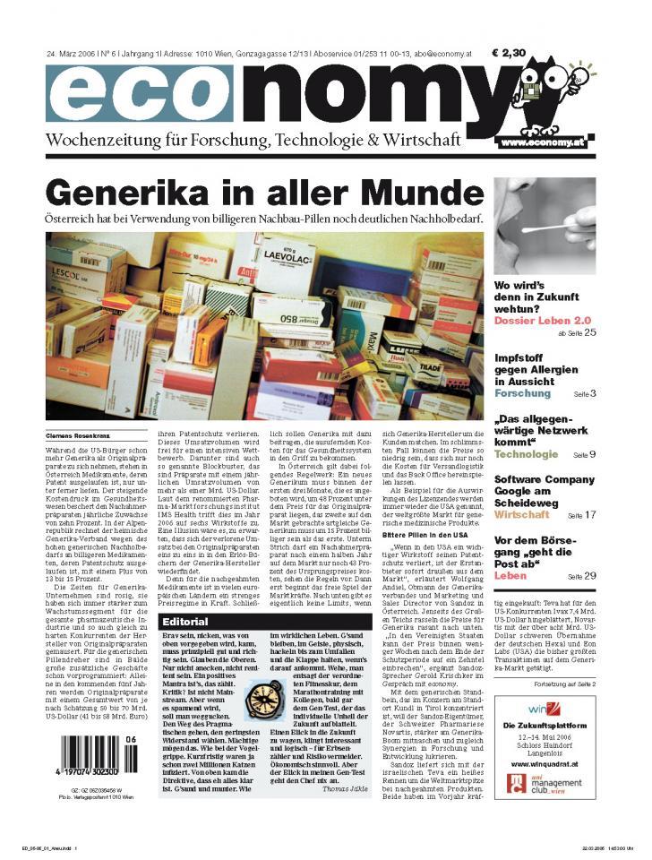 Heft Ausgabe Nr. 06 - Seite 1