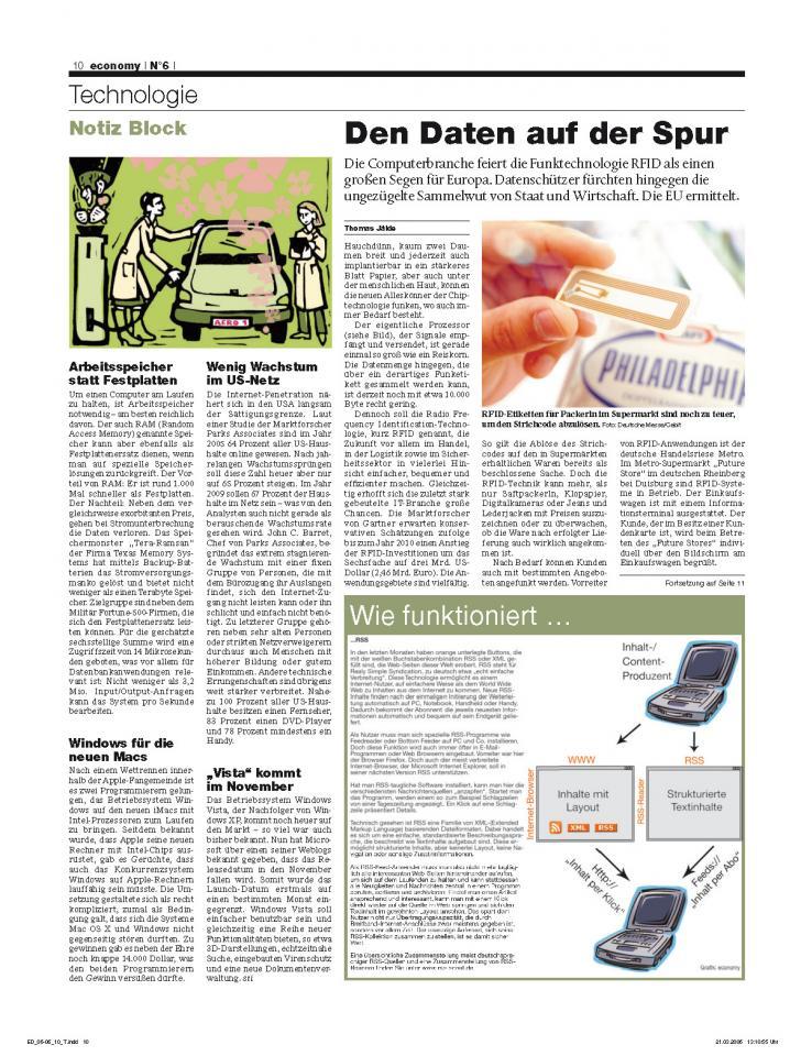Heft Ausgabe Nr. 06 - Seite 10