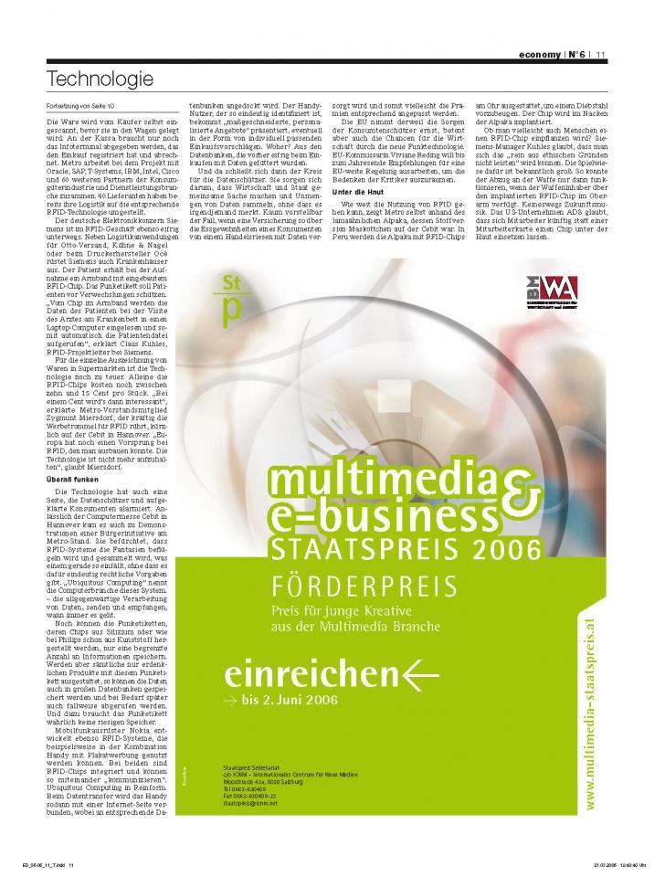 Heft Ausgabe Nr. 06 - Seite 11