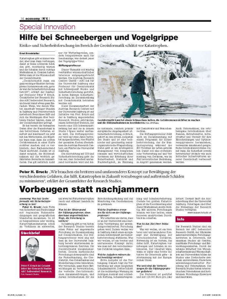 Heft Ausgabe Nr. 06 - Seite 14