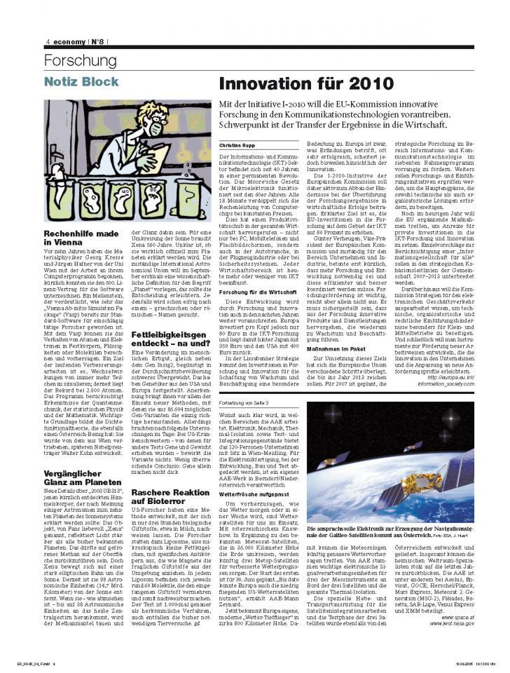 Heft Ausgabe Nr. 08 - Seite 4