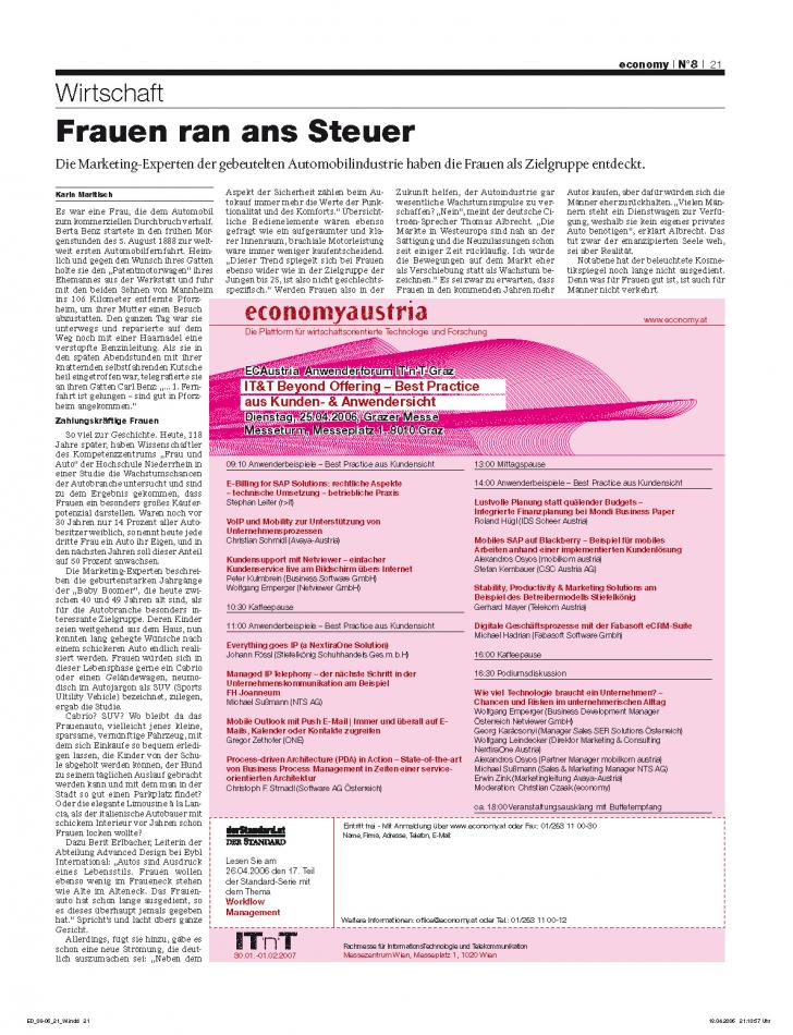 Heft Ausgabe Nr. 08 - Seite 21