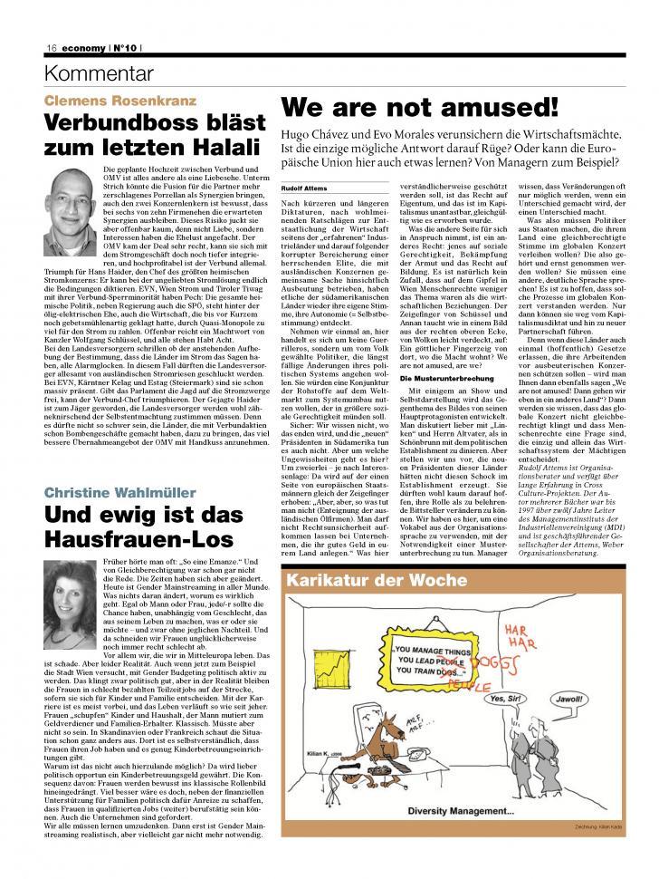 Heft Ausgabe Nr. 10 - Seite 16