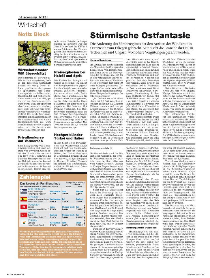 Heft Ausgabe Nr. 13 - Seite 14