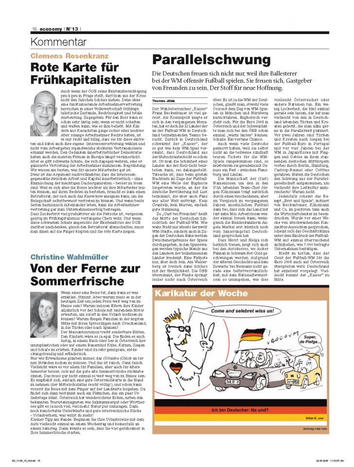 Heft Ausgabe Nr. 13 - Seite 16