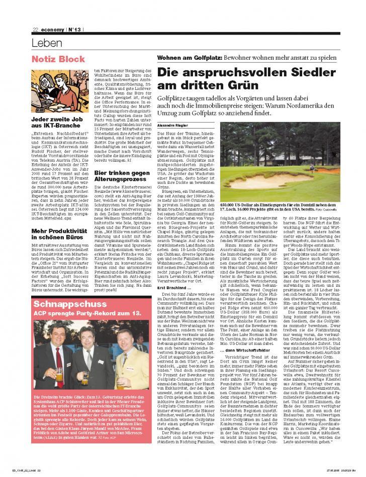 Heft Ausgabe Nr. 13 - Seite 22