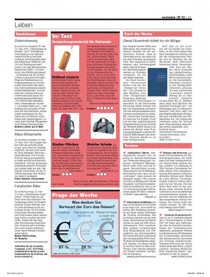 Heft Ausgabe Nr. 13 - Seite 23