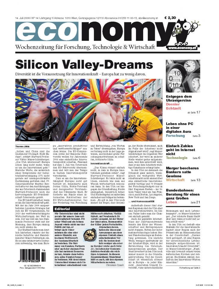 Heft Ausgabe Nr. 14 - Seite 1