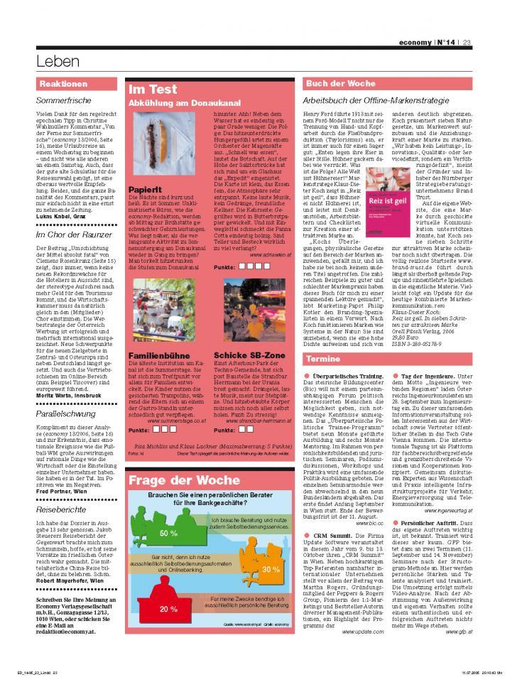Heft Ausgabe Nr. 14 - Seite 23