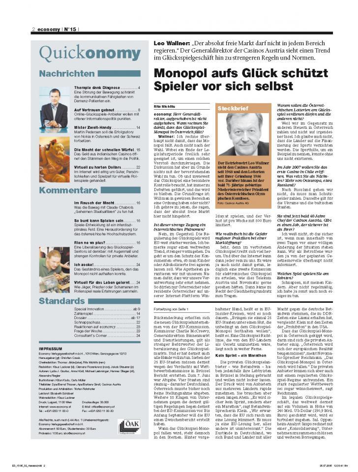 Heft Ausgabe Nr. 15 - Seite 2
