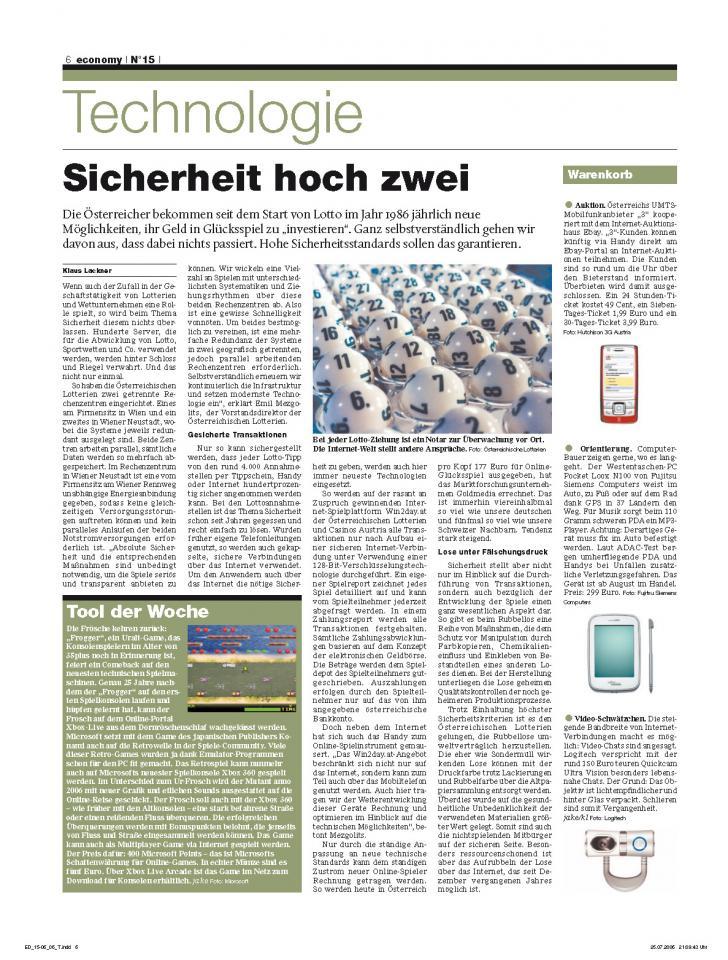 Heft Ausgabe Nr. 15 - Seite 6