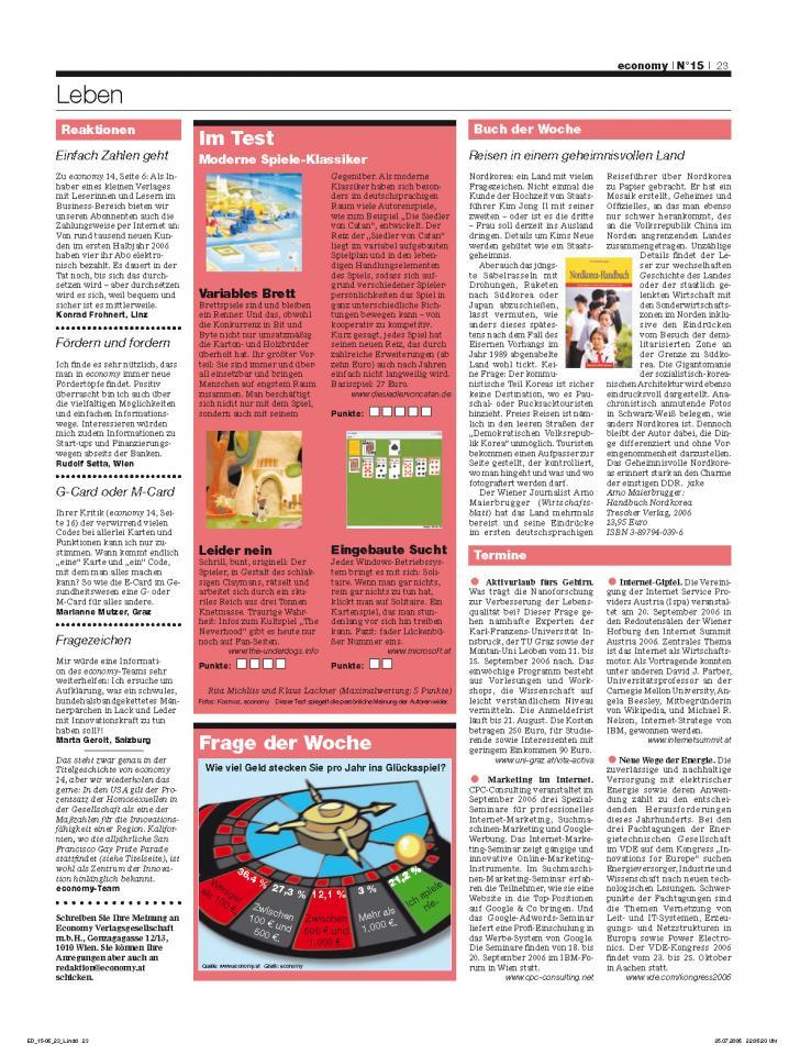 Heft Ausgabe Nr. 15 - Seite 23