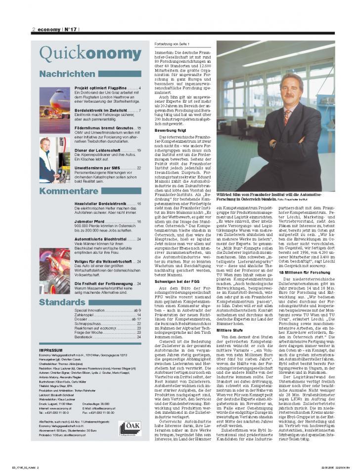 Heft Ausgabe Nr. 17 - Seite 2