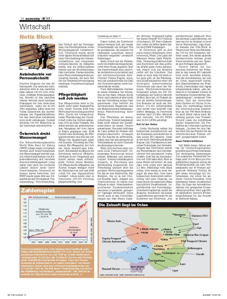 Heft Ausgabe Nr. 17 - Seite 14