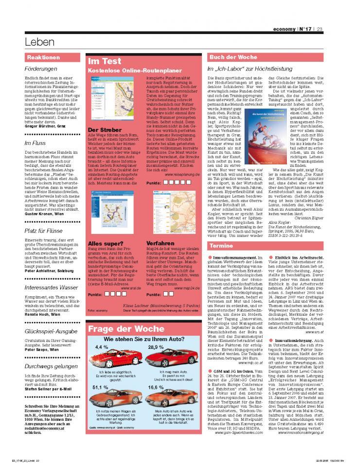 Heft Ausgabe Nr. 17 - Seite 23