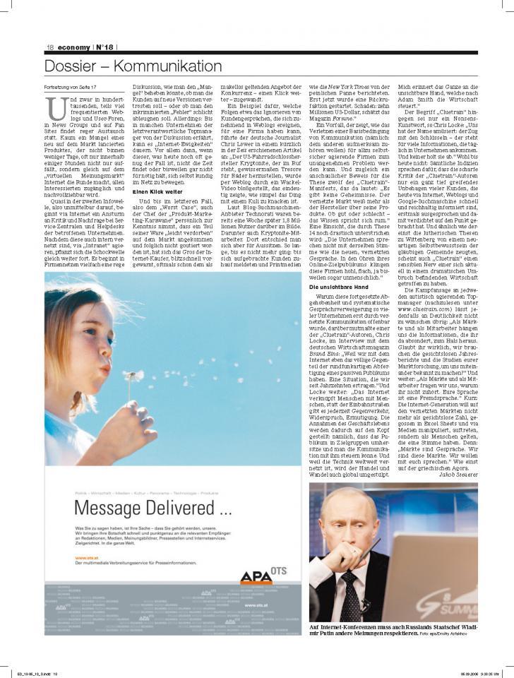 Heft Ausgabe Nr. 18 - Seite 18