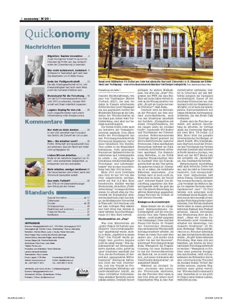 Heft Ausgabe Nr. 20 - Seite 2