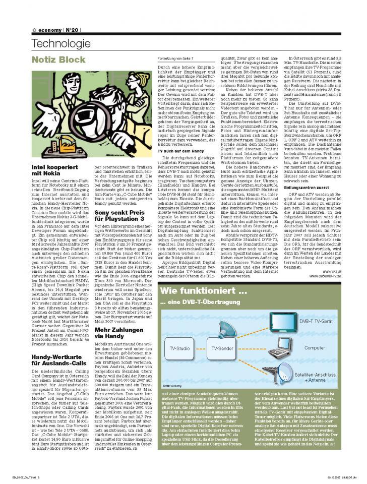 Heft Ausgabe Nr. 20 - Seite 8