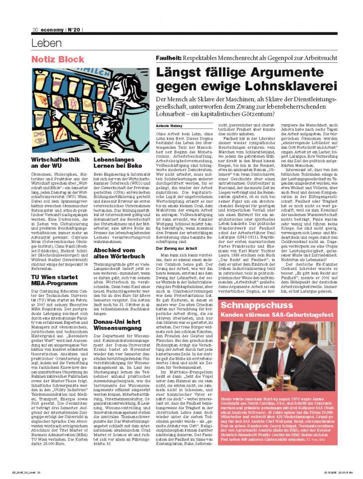 Heft Ausgabe Nr. 20 - Seite 30