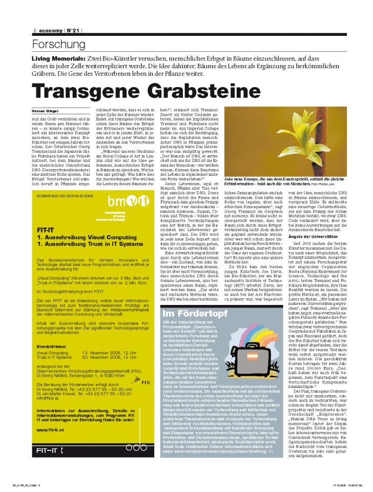 Heft Ausgabe Nr. 21 - Seite 6