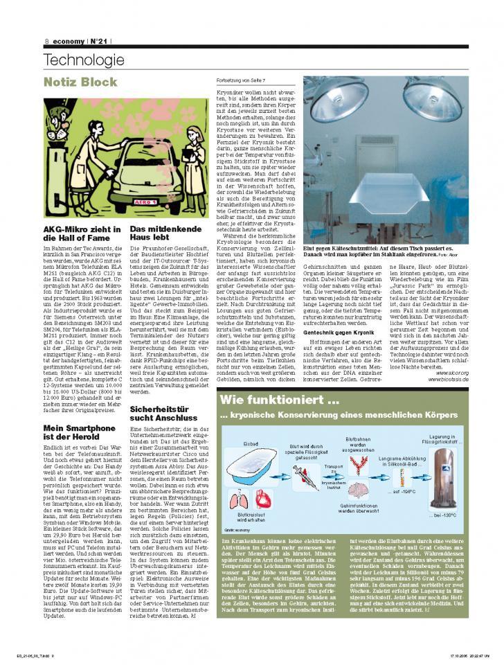 Heft Ausgabe Nr. 21 - Seite 8