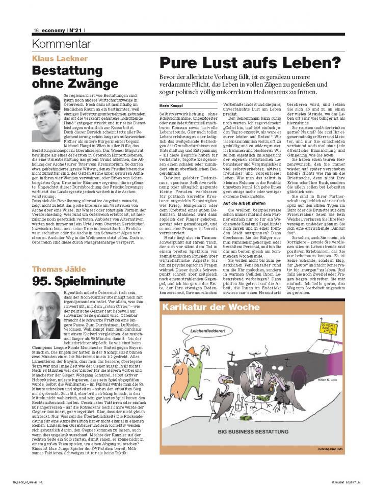 Heft Ausgabe Nr. 21 - Seite 16
