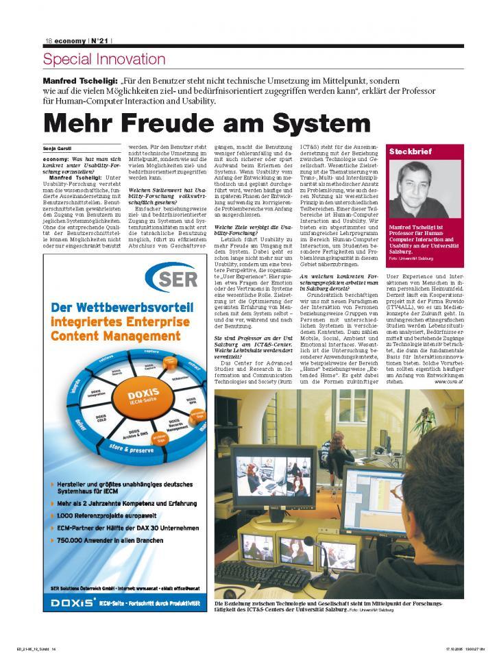 Heft Ausgabe Nr. 21 - Seite 18