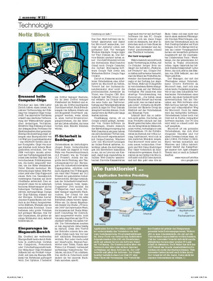 Heft Ausgabe Nr. 22 - Seite 8