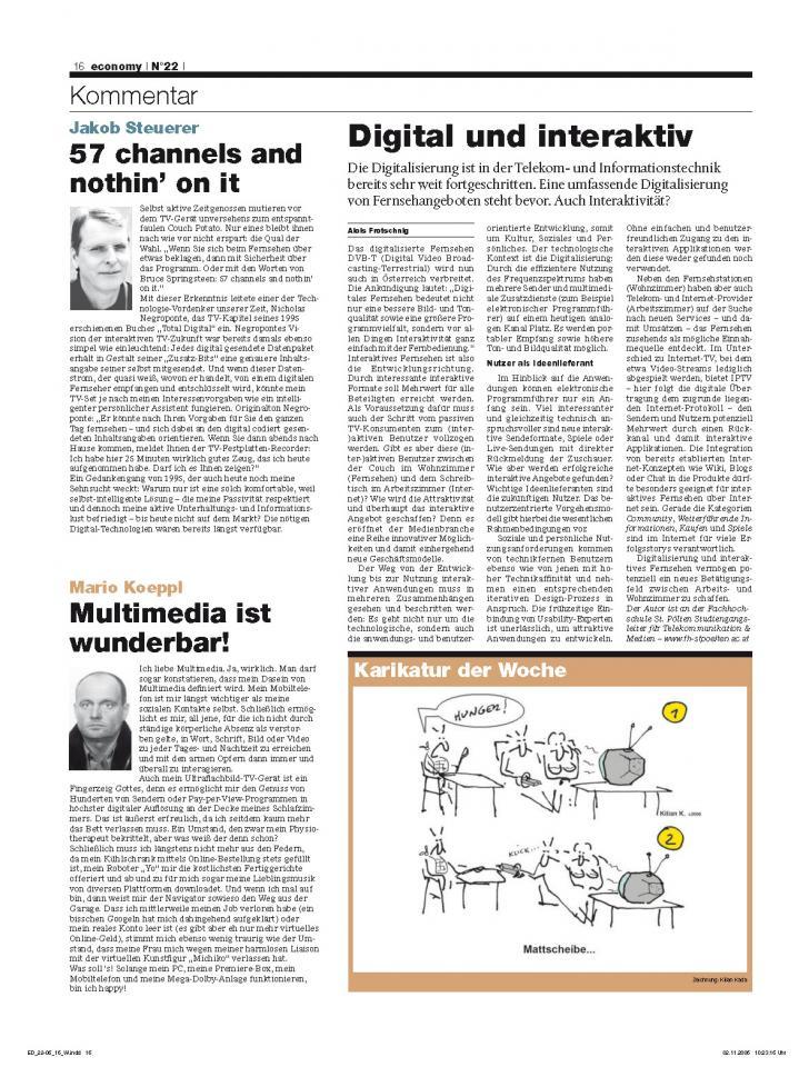 Heft Ausgabe Nr. 22 - Seite 16