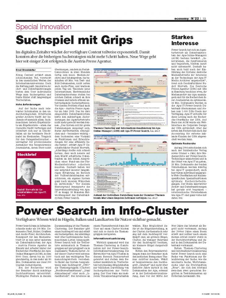 Heft Ausgabe Nr. 22 - Seite 19