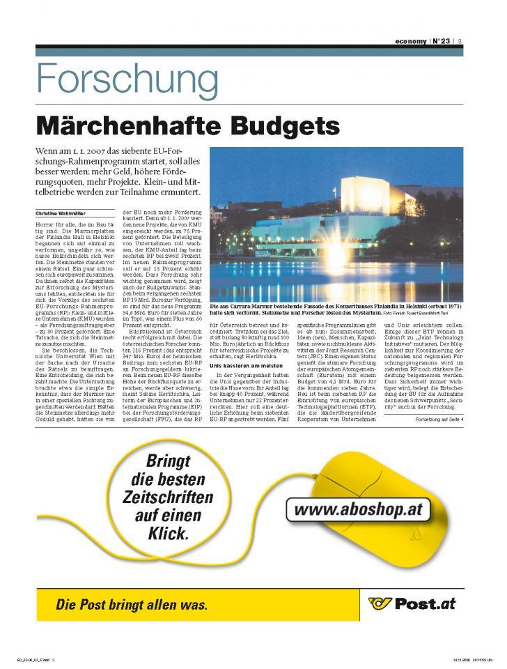 Heft Ausgabe Nr. 23 - Seite 3