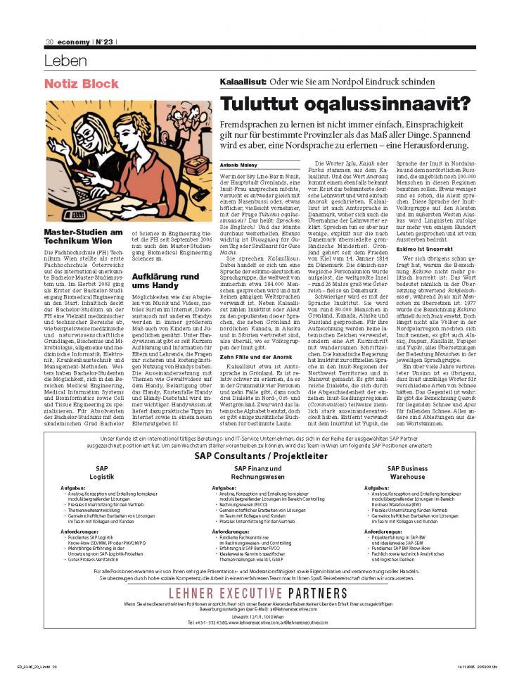 Heft Ausgabe Nr. 23 - Seite 30