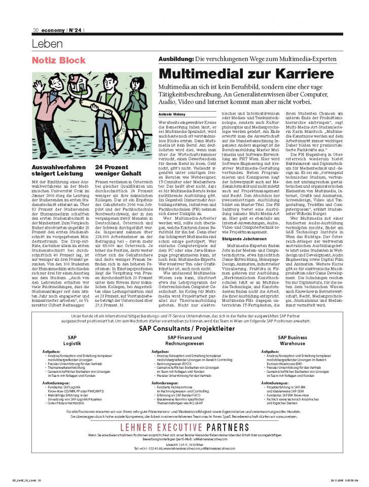 Heft Ausgabe Nr. 24 - Seite 30