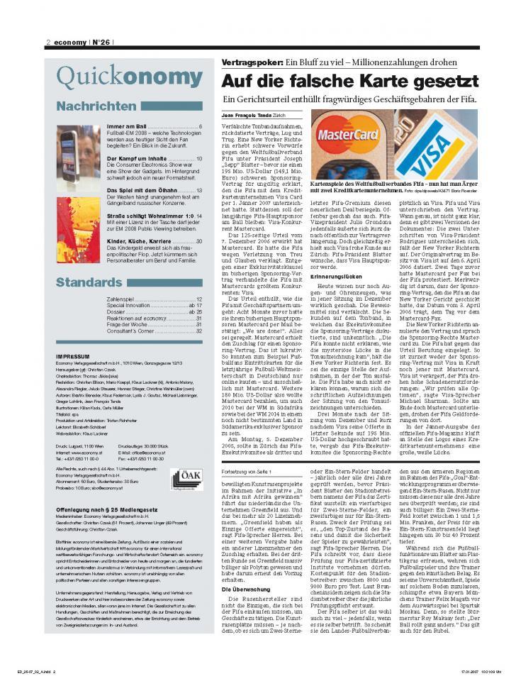 Heft Ausgabe Nr. 26 - Seite 2