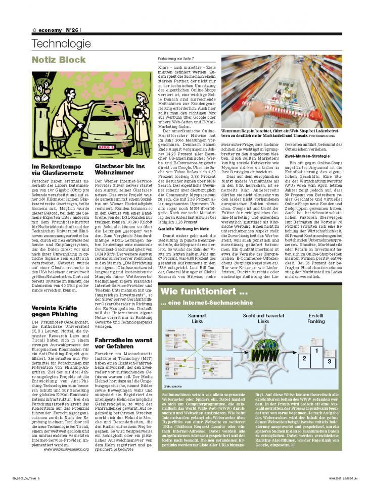 Heft Ausgabe Nr. 26 - Seite 8