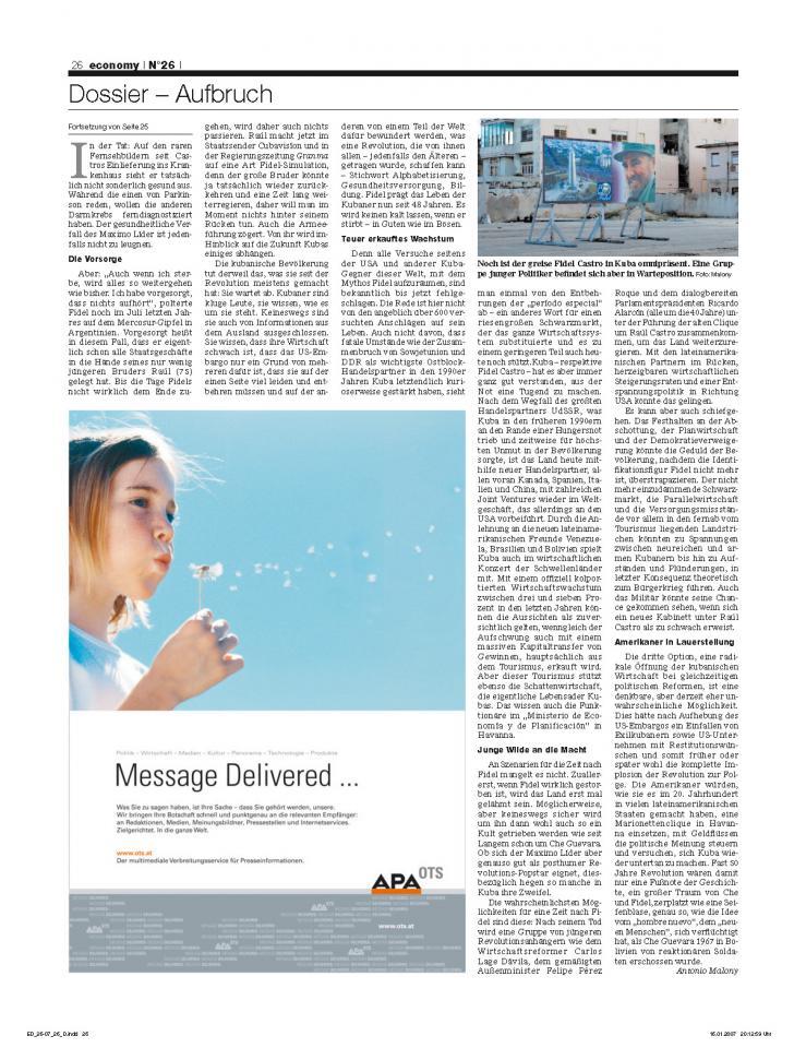 Heft Ausgabe Nr. 26 - Seite 26