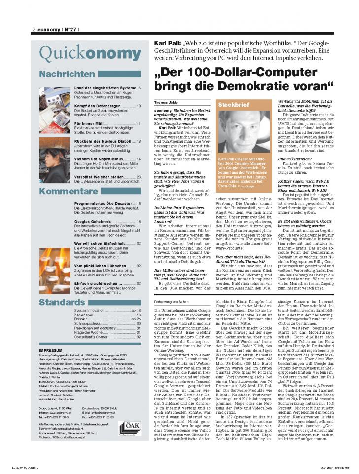 Heft Ausgabe Nr. 27 - Seite 2