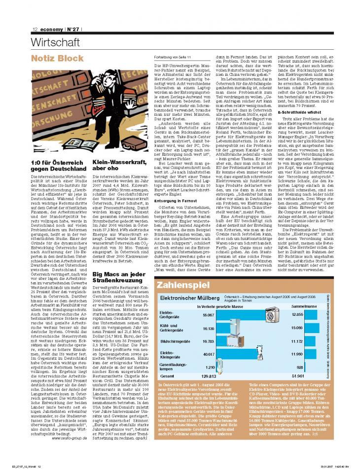 Heft Ausgabe Nr. 27 - Seite 12