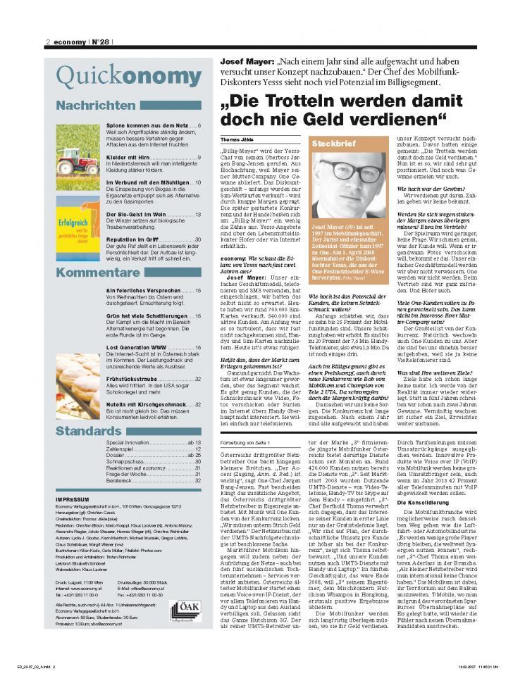Heft Ausgabe Nr. 28 - Seite 2